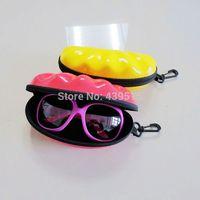 one pack 5pcs for 2014 Sunglasses Box  EVA Sunglasses Case and Eyeglasses Case