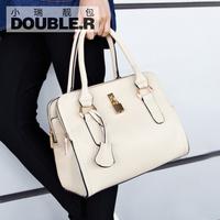 Macaron toner portable small cross-body bag 2014 women's handbag vintage platinum bag