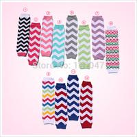 Hot sale Chevron Cotton leg warmer,Baby and Toddler  leg warmer Arm warmer