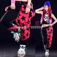 2014 New Arrival Fashion Jazz HipHop Women's Casual Harem Baggy Dance Sport Sweat Pants Trousers Costumes