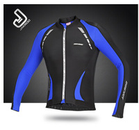 2014 New Arrival  Jakroo Men Winter Thermal Fleece Cycling Bicycle Riding Professional Long Sleeve Jersey Jerseys - ThunderBird