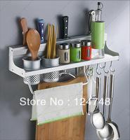 hot !free shipping Space Aluminium storage shelf 2013 new design top quality 50cm storage holder&racks kitchen