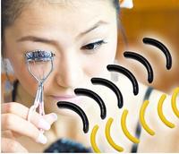 FREE SHIPPING  60pcs Curlers replacement pads antibacterial material muticolor eyelash curler pads soft [200535*10]