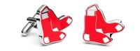 Boston Red Sox Cufflinks Socks Logo gGift Cuff links Shirt Tie Hat
