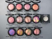 24 шт. / lot — косметика минерализованные румяна 3,5 G 12 цветов, Mc профессиональный лицо румяна макияж