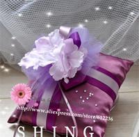 Purple Haze Xianlin creative wedding ring pillow wedding ring care Korean handmade wedding gifts