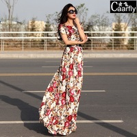 2014 summer fashion luxury slim lace plus size clothing mopping the floor dress full one-piece dress