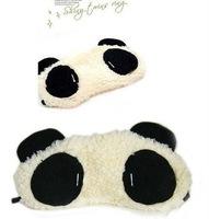 Free Shipping sleeping eye mask, panda eye mask, wholesale and retail Shade Nap Cover Blindfold Sleeping Travelrest 10pcs/lot