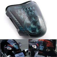 Smoke 34 LED Brake Tail Light Turn Signal Blinker For Suzuki Hayabusa1300 08-10