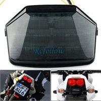 Smoke Lens 36 LED Integrated Brake Tail Light Turn Signal For Honda CB1300 04-08