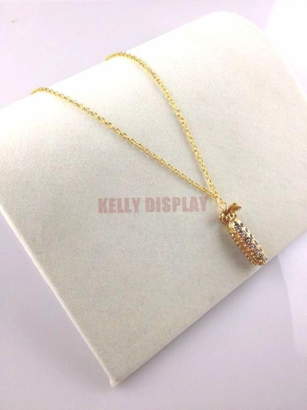 Cheap Jewelry Display Organizer Holder Supplier,4pcs 20*19*3.5cm White Velvet Jewelry Necklace Bracelet Display Show Rack(China (Mainland))