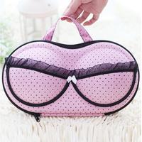 Travel Underwear Bar Storage Box Covered bra Finishing Box Panties Socks Travel Portable Storage Box & Bra Bag