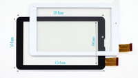 free shipping 7 inch  MT261 MTK tablet pc touch panel digitizer