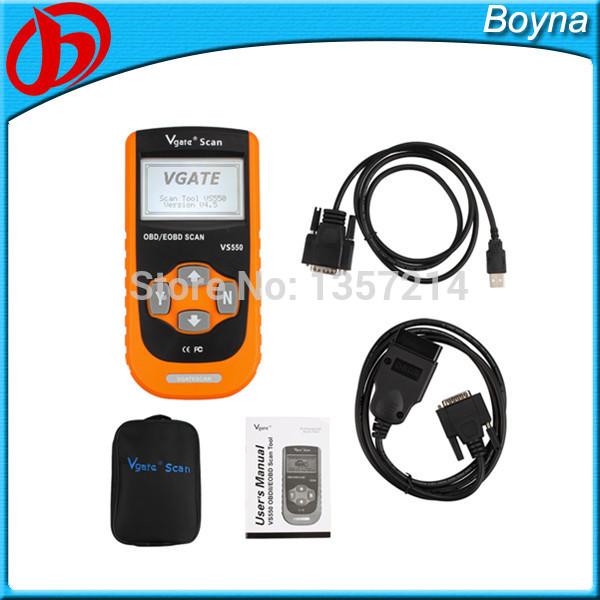2014 VS550 Automotive CAN ODB II 2 OBD2 OBDII Diagnose Code Reader Scanner VS550 Diagnostic Scan tools(China (Mainland))