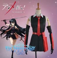 New Arrival Custom Made Akame ga Kill Akame Cosplay Costume
