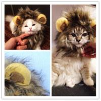 Lion's Mane Cat Hat wholesale cat's toy like lion mane hat Stuffed & Plush Toy Lion's Mane Hat for Cats