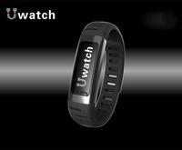 Black U9 Bluetooth Smart Watch Wrist Watch Bracelet with Calorie Counter & Pedometer with Wifi hotspots for Lenovo,HTC,Xiaomi