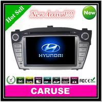 2 din car dvd gps for HYUNDAI TUCSON IX35 SD/DVD/USB/Touch screen/FM/AM AnalogTV(PAL/NTSC/SECAN)1080P iphone 5S