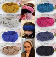 HOT Women Girl  Twisted Ribbon Warmer Knit Wool Headband Makeup Wash Hair Band