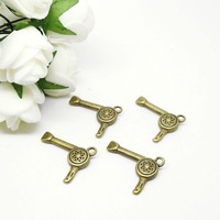 Free Shipping 30pcs/lot 22x17mm Antique Bronze Hairdryer Charm Pendants Jewelry Findings Wholesales