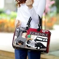 braccialini bag 2014 spring and summer vintage classic handbag one shoulder cross-body women's handbag bag personalized female