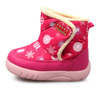 New 2014 children boots shoes baby first walker flats thicking boys girls snow kids sneaker free shipping A310