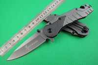 Free shipping Hot Offers Browning .X31 (Carbon) tactical folding knife camping knife hunting knife survival tool