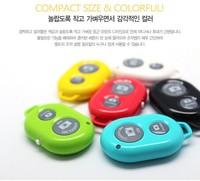 selfie Wireless Bluetooth remote shutter Camera Control Self-timer Shutter For Samsung iphone mini camcorders