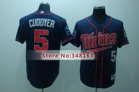 #5 Michael Cuddyer Jersey blue Black, minnesota twins,fashion baseball jerseys,sewn lo,2014 New Men's Baseball jersey, mix order