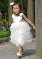 Flower Girl Dress Ivory  Baby Girl Dress Birthday Party Dress