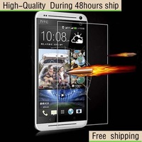 High Quality Scratch Resist Tempered Glass Screen Protector For HTC Desire 700 Free Shipping DHL HKPAM CPAM