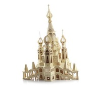 The new St. Petersburg, Russia oversized 3D Puzzle | wooden educational toys simulation models new listing