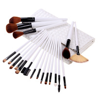 Professional 20PCS Makeup Brushes With Pouch Case Cosmetic Make Up Blusher Brush Set Kit New