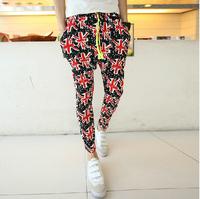 Fashion New 2014 Sport Men/Women Harem Pants/Casual Sport Hip Hop Pants Men/ Brand Baggy Dance Pants/Sweatpants For Men