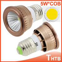 Free and drop shipping 5W E27 COB Led Spot Light Spotlight Bulb Lamp High Power Lamps 600Lumi chandelier