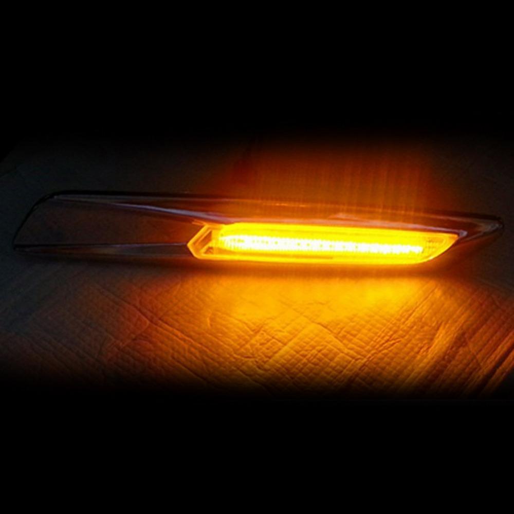Car LED 7000-8000K Side Turn Signals For BMW E60 E61 E81 E82 E87 E88 E90 E91 E92 E93(China (Mainland))