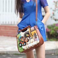 Female bags braccialini bag 2014 totty casual handbag one shoulder women's cross-body bag