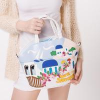 braccialini bag 2014 love sea knitted handbag one shoulder cross-body women's handbag bag