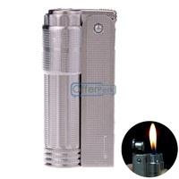 Silver Cigar Cigarette Lighter Not Including Butane Kerosene Lighter