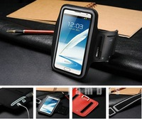 5pcs Suporte Para Celular Braco Neoprene Sports Armbands Case Cover Gym Running  Arm Band Holder for Samsung Galaxy Note 2 N7100