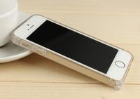 Hippocampal Buckle Ultrathin plastics Bumper Frame Case For Phone 5 5S Bumpers Frame Protector 100PCS/Lot