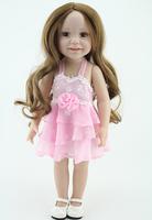 Fashion Princess Doll Baby Toys 18 Inch Vinyl BJD Accessories Lifelike Standing Baby Girl Dolls Handmade Doll Toys