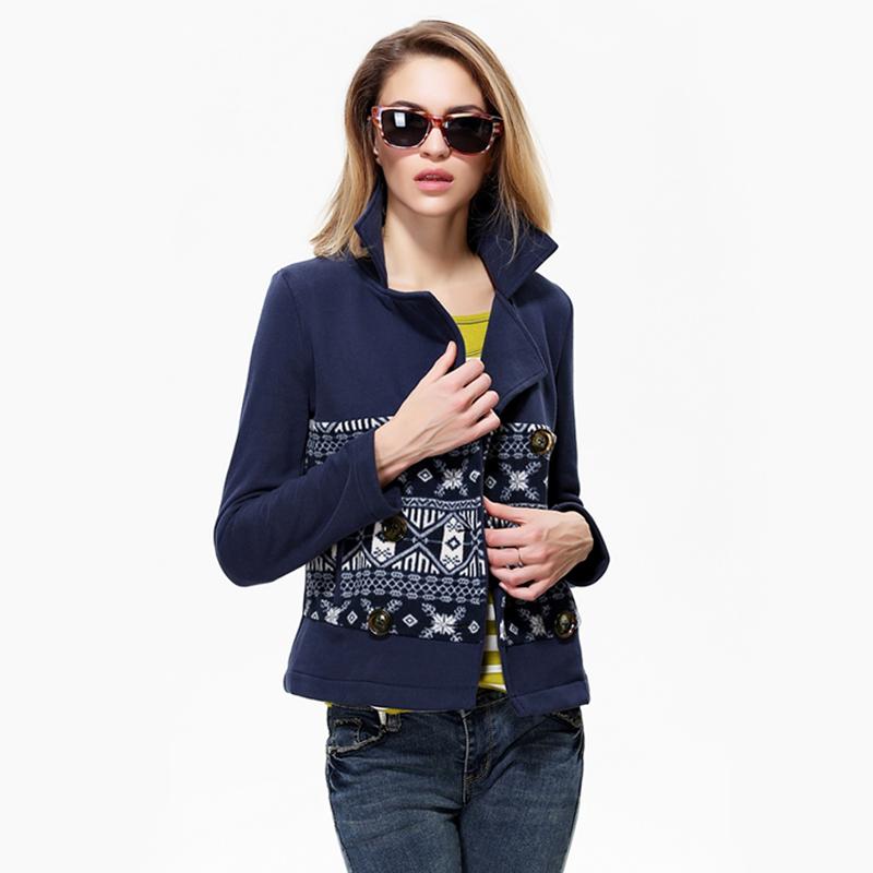 High street cotton short jacket new 2014 fashion women slim woolen short coat for autumn winter