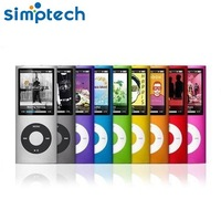 Newest Slim 1.8' 4th Gen 32GB 9Colors  Mp3 player Music playing time 30Hours fm radio ebook video player  FreeShipping