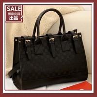 MeetU Autumn fashion vintage shoulder bag messenger bag handbag women's bag,Pu leather totes for OL lady,free shippping