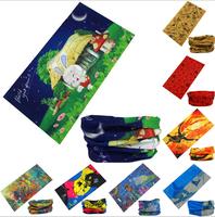 2014 Outdoor seamless magic ride magic anti-UV bandana hip-hop anti-uv multifunctional bandana Retail wholesales bandana
