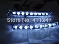 Free shipping KIA K2 Chery E5 A6 Roewe 550 POLO 9LED dedicated daytime running lights daytime running lights