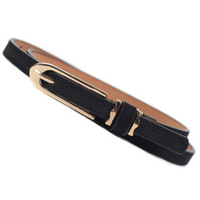 2014 Hot Price Women leather waist Belts Fashion Ladies Thin Waistband Casual Solid Decoration Waist Straps