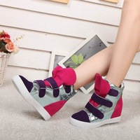 Women's  genuine leather shoes   lady shoes   hiking shoes
