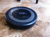 Hot selling worldwide , New technical ultrasonic wave robot vacuum cleaner - EV-01  black